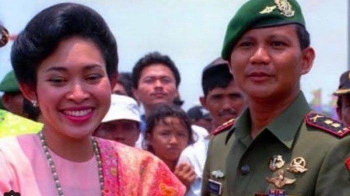 Prabowo Subianto Rayakan Ulang Tahun ke-67, Ini Ucapan Manis dari Mantan Istri, Titik Soeharto