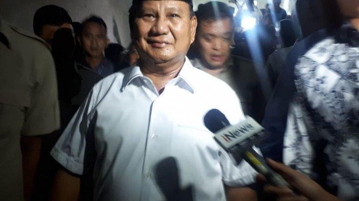 Tak Diizinkan Jenguk Eggi Sudjana karena Sudah Malam, Prabowo: Kita Hormati Saudara