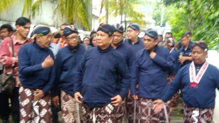 Ziarah ke Makam Imogiri, Prabowo Subianto Tampik Keterkaitan Soal Agenda Menuju Pilpres 2019