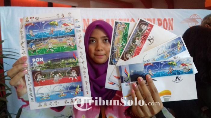 Inilah Foto-foto Kartu Pos dan Prangko Seri PON XIX