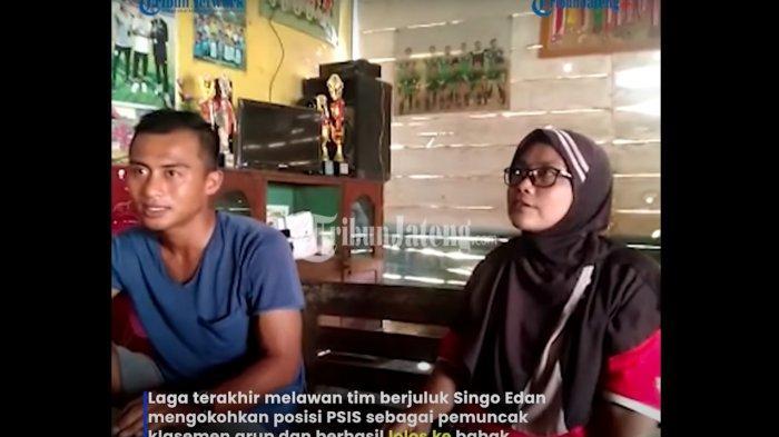 Bek sayap PSIS Semarang Pratama Arhan Alief