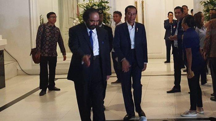Surya Paloh Akui Ingin Peluk Erat Jokowi, Ini Reaksi Kader dan Tamu saat HUT Partai Nasdem