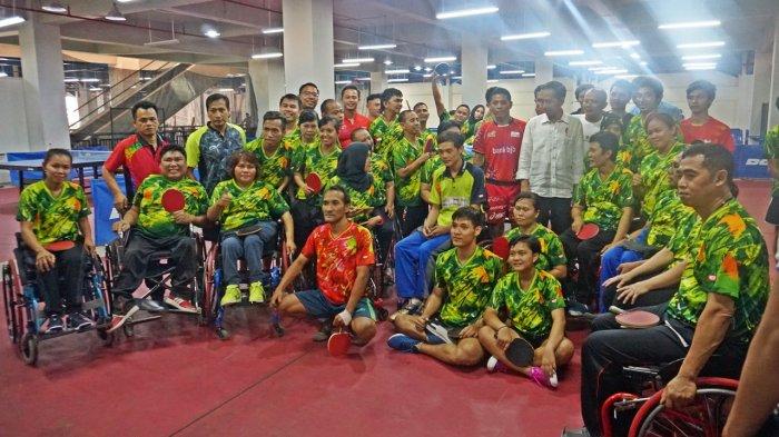 Cerita Kunjungan Dadakan Jokowi ke Pelatnas Asian Para Games di Solo, Kabar Baru Datang Pagi Hari