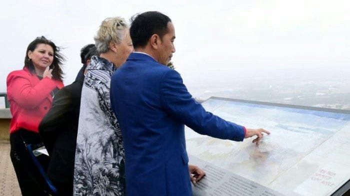 Jokowi Pelajari Pembangunan Ibu Kota Australia saat Kunjungi Kawasan Mount Ainslie di Canberra