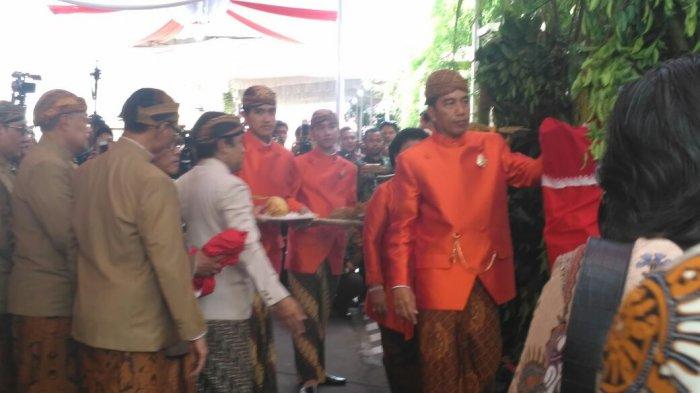 Usai Prosesi Siraman, Ini Wejangan Jokowi untuk Kahiyang Ayu