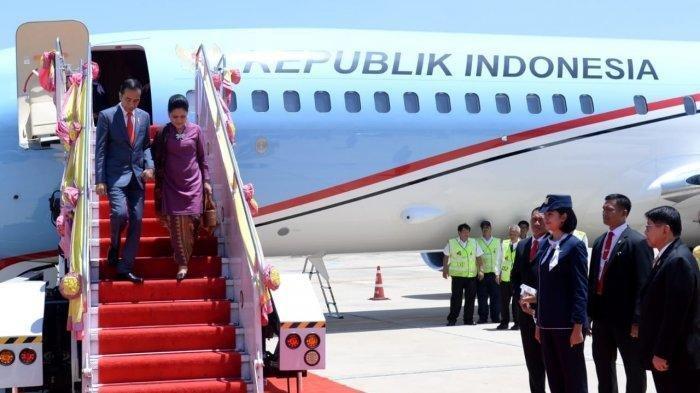 Presiden Jokowi Langsung Temui Perdana Menteri Thailand Setibanya di Bangkok