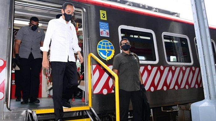 5 Fakta Presiden Jokowi ke Jogja & Solo Raya : Naik KRL Turun Klaten, Tak Pulang ke Solo Meski Dekat