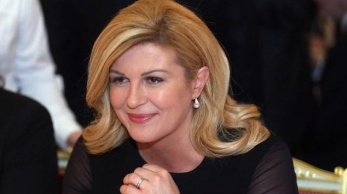 Sosok Grabar-Kitarovic, Presiden Kroasia yang Sita Perhatian di Laga Final Prancis Vs Kroasia