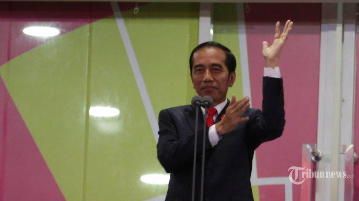 Opening Ceremony Asian Para Games 2018, Presiden Jokowi Gunakan Tepuk Tangan Isyarat
