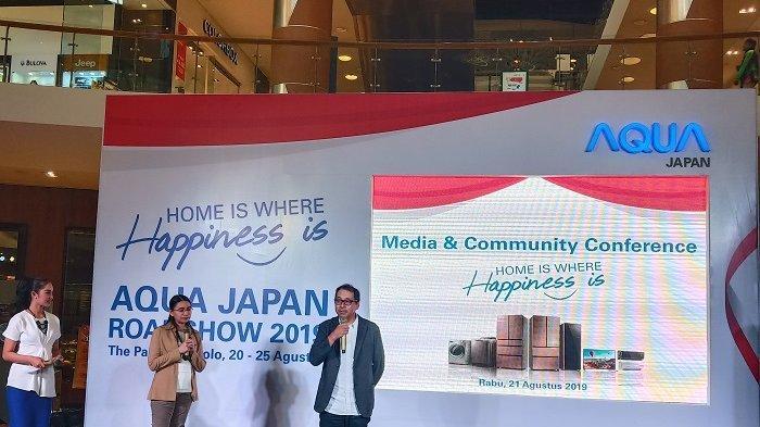Aqua Japan Pamerkan Barang Elektronik yang Sesuai Kebutuhan Orang Indonesia di The Park Solobaru