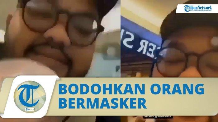 Viral Pria Bodohkan Pengunjung Mal yang Pakai Masker, Nasib Pelaku Kini Sudah Ditangkap Polisi