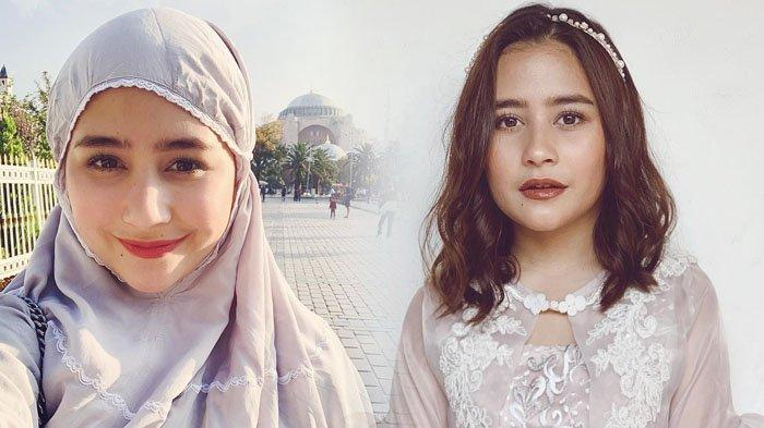 Ikuti Kajian Musawarah Bersama Ustaz Hanan Attaki, Penampilan Prilly Latuconsina Curi Perhatian