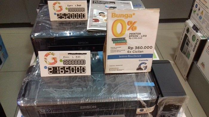 Ada Promo Cicilan 0% untuk Pembeli Printer Epson di Gramedia Solo Square, Bisa Tanpa Kartu Kredit!