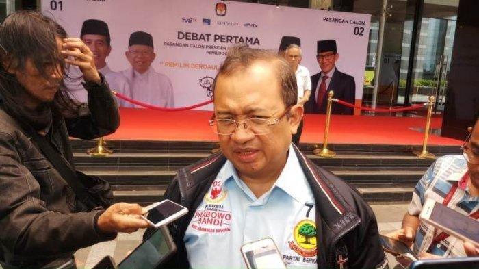 Ungkap Alasan BPN Persoalkan Situng KPU, Priyo Budi: Itu Semacam Alat untuk Memprovokasi