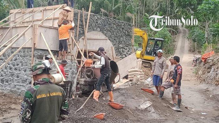 Jembatan Penghubung Dua Dusun di Kismantoro Segera Rampung, Anak Sekolah Tak Perlu Memutar Lagi