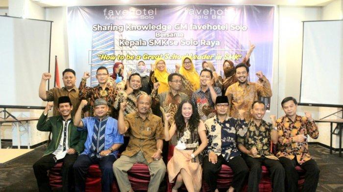 Wujud Nyata Link And Match, Favehotel Solo Gelar Sharing Knowleadge Bersama Kepala SMK Se Solo Raya