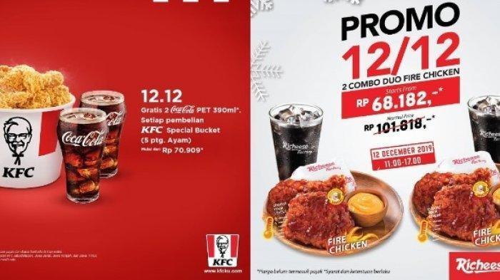 Promo 12.12 Tempat Makan Siap Saji: Ada KFC hingga PHD, Simak Syarat dan Promonya