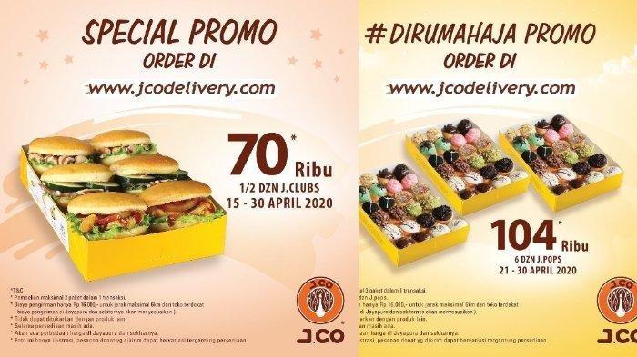 Promo JCO untuk Kamu yang di Rumah: 4 Lusin JPops dan 1/2 Lusin Donat Cuma Rp 104 Ribu