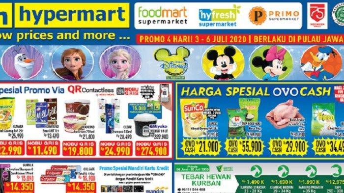 Daftar Promo Hypermart Hari Ini, Berlaku 3 - 6 Juni 2020, Dapatkan Diskon Produk Sembako Berikut