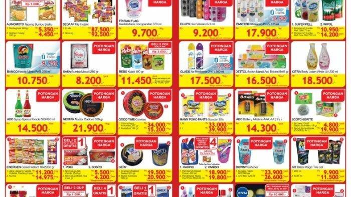 Promo Indogrosir Sampai 15 Mei 2020, Potongan Harga untuk Produk Susu hingga Indomie