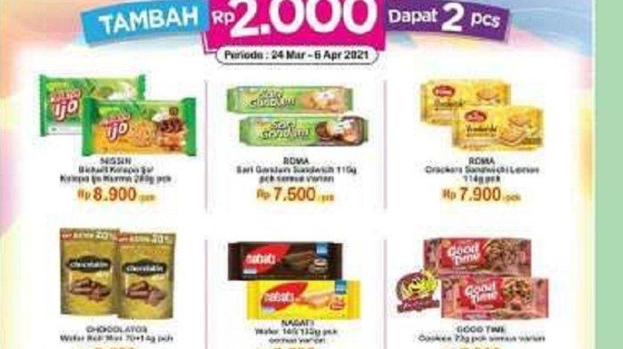 Promo Indomaret Kamis 1 April 2021, Ada Promo Nutella hingga KitKat