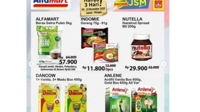 Promo Alfamart Hari Ini, Promo 21 November 2020 : Promo Nutella hanya Rp 29.900,-