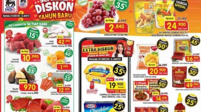 Promo Superindo Hari Ini, Minggu 3 Januari 2021 : Ada Promo Cimory Fresh Milk hingga Minyak Goreng