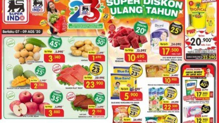 Katalog Promo Superindo 8 Agustus 2020, Ada Promo Deterjen hingga Minyak Goreng