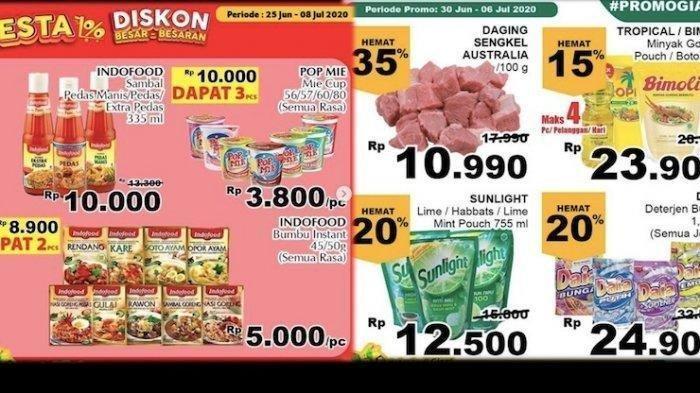 Katalog Promo Giant Terbaru Periode 1 Juli, Ada Pesta Diskon untuk Produk Makanan hingga Sepeda