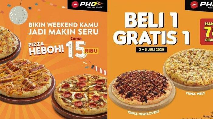 Promo Burger King, Richeese Factory, PHD, J.CO Periode Juli 2020: Pizza Mulai Rp 15 Ribu