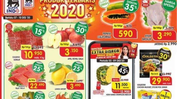 Promo Superindo Hari Ini, Senin 7 Desember 2020 : Ada Promo Minyak Goreng Super Murah