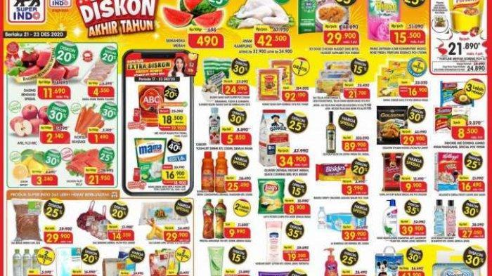 Promo Superindo Hari Ini, Senin 21 Desember 2020 : Ada Promo Cimory Yogurt hingga Minyak Goreng