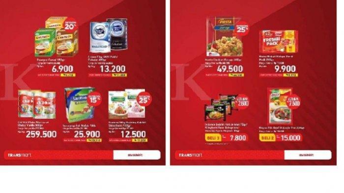 Promo Transmart Carrefour Senin 21 Juni 2021, Ada Promo Susu Hingga Pampers Bayi