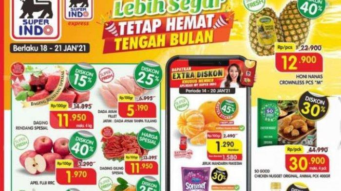 Promo Superindo Selasa 19 Januari 2021, Ada Promo Minyak Goreng Super Mudah