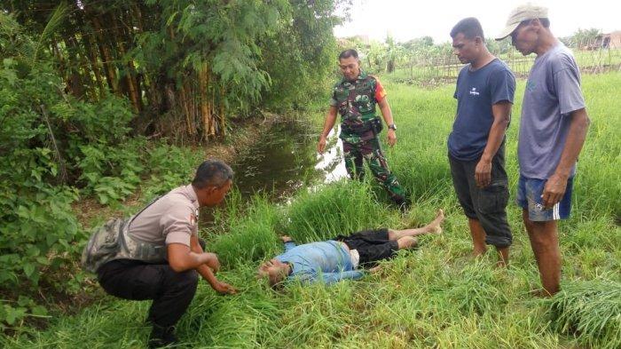 Warga Kaget Temukan Pencari Rumput Sudah Tak Bernyawa di Tengah Sawah Grogol Sukoharjo