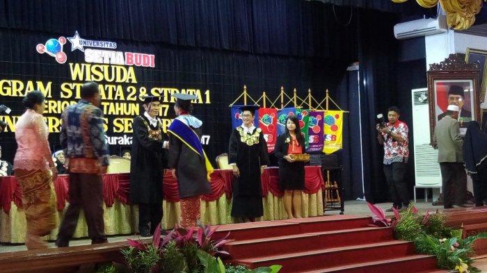 Universitas Setia Budi Solo Mewisuda 97 Wisudawan