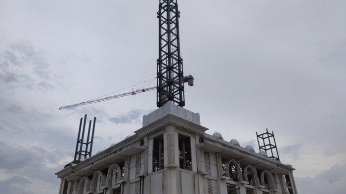 Potret Terbaru Masjid Agung Karanganyar : Baru 60 Persen Saja Terlihat Megah, Apalagi Sudah Selesai