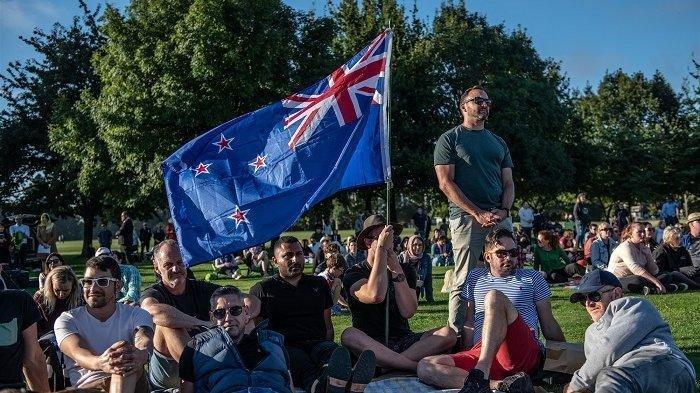 Peringatan Insiden Penembakan di Selandia Baru Dihadiri Puluhan Ribu Orang