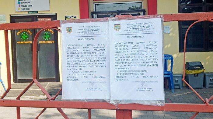 Masa Penutupan Sementara Segera Berakhir, Kini Puskesmas Sukoharjo Bersiap untuk Beroperasi Kembali