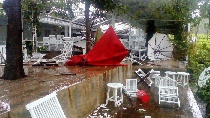 Puting Beliung Terjang Tiga Desa di Ngargoyoso, Karanganyar, Sedikitnya 25 Rumah Rusak