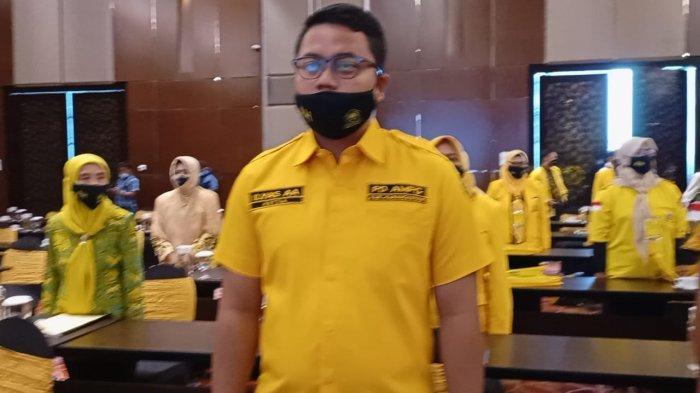 Putra Bupati Karanganyar Juliyatmono, Ilyas Akbar Almadani terpilih secara aklamasi menjadi Ketua DPD II Partai Golkar Karanganyar saat Musyawarah Daerah di Hotel Alana, Senin (22/2/2021).