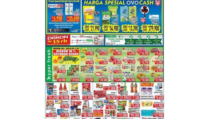 Daftar Promo Hypermart Solo Grand Mall Periode 26 29 Juni 2020 Nikmati Diskon Untuk Produk Sembako Tribun Solo