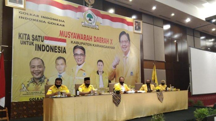 Jika Ditugaskan Golkar, Ilyas Akbar Almadani Putra Juliyatmono Siap Maju Pilkada Karanganyar 2024