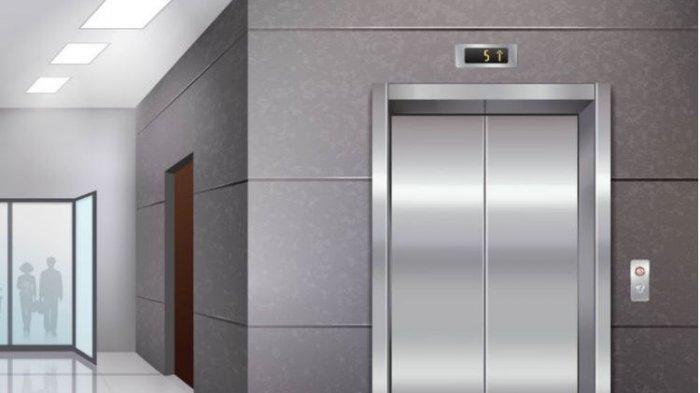 Terjebak di Lift Stasiun Negara, Tombol Darurat Tak Berfungsi, Pemuda Ini Minta Tolong Lewat Twitter