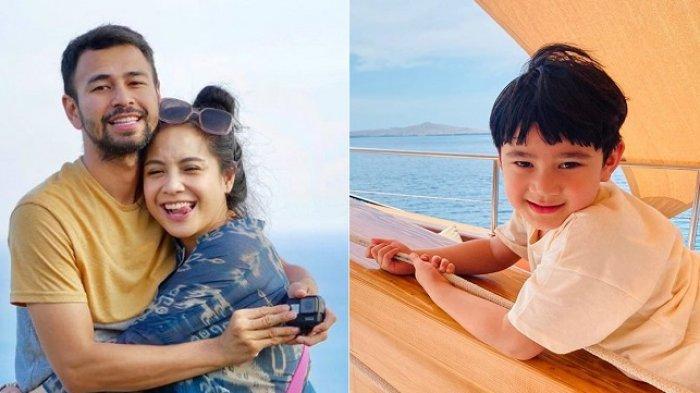 Raffi Ahmad dan Nagita Slavina ajak Rafathar liburan ke Labuan Bajo.