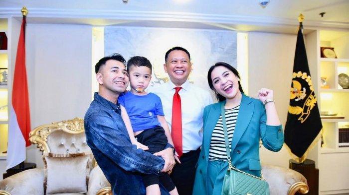 Raffi Ahmad dan Nagita Slavina Kunjungi Gedung DPR, Seorang Staff Ungkap Sikap Manis Raffi pada Gigi