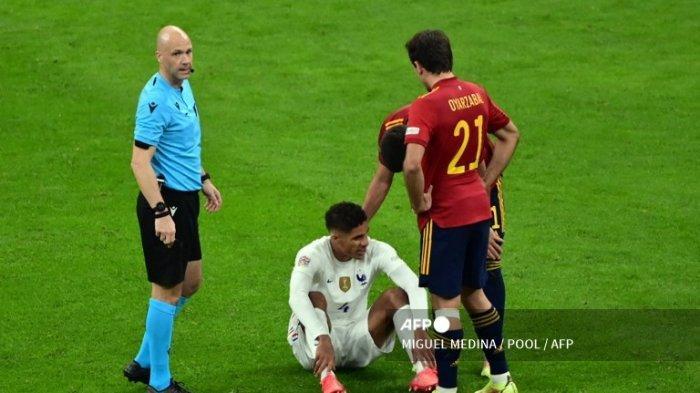 Prancis Kampiun UEFA Nations League, Manchester United Buntung : Varane Absen Lawan Leicester ?