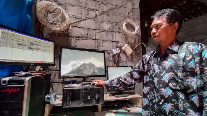 Catatan Aktivitas di Gunung Merapi, Terdengar Beberapa Kali Suara Guguran