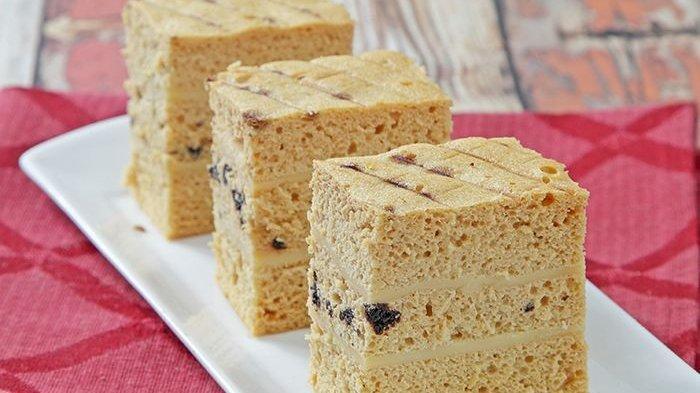 Resep Cake Kukus Karamel Lapis Keju, Masaknya Tanpa Oven tapi Rasanya Maksimal