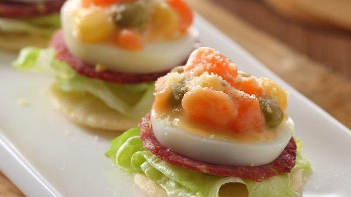 Resep Canape Salad Enak, Hidangan Bergizi Favorit Anak-anak